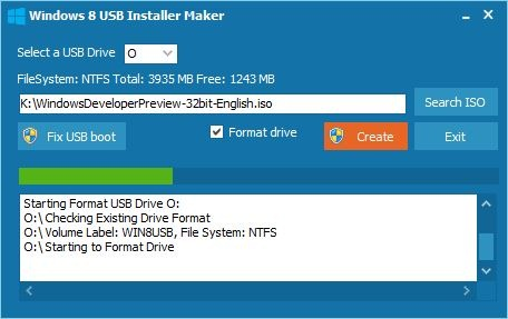 Windows 8 USB Installer Maker|小众软件