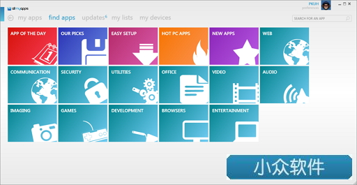 Allmyapps - windows 下的 app store 体验 2