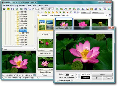FastStone Image Viewer - 代替ACDSee的看图软件 1