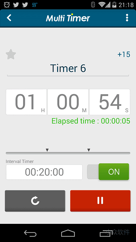 Multi Timer StopWatch - 多功能计时器[Android] 2