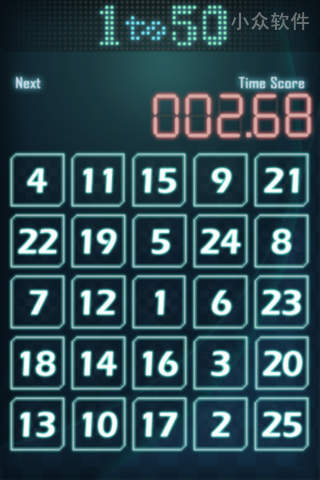 1to50 - 点一点,12345[Android/iPhone 游戏] 1