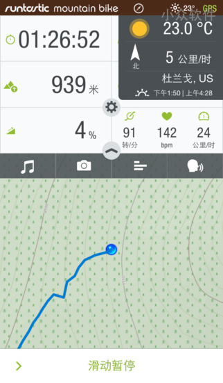 Runtastic Mountain Bike PRO - 山地车骑行应用[iPhone/Android 限免] 1