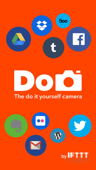 Do Camera by IFTTT - 一键拍照分享相机[iPhone/Android] 2