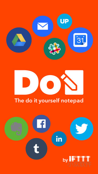 Do Note by IFTTT - 一键保存分享笔记[iPhone/Android] 1