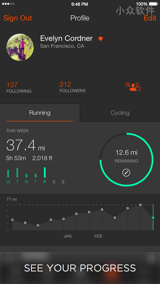 Strava - 用GPS 记录跑步和骑行[iPhone/Android/Watch] 1
