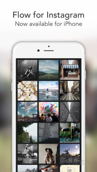 Flow for Instagram 发布 iPhone 版本 1