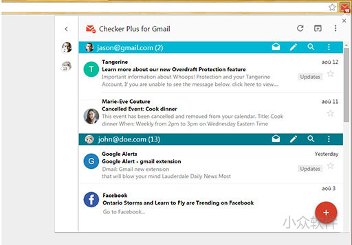Checker Plus for Gmail - 优秀的 Gmail 客户端[Chrome] 1