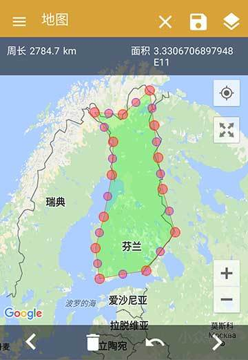 GPS Fields Area Measure - 用 GPS 测量面积、长度[Android] 1