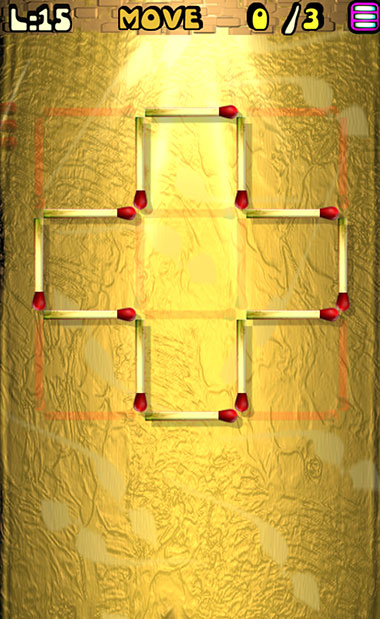 Matches Puzzle Game - 摆『火柴棍』童年游戏[Android] 1