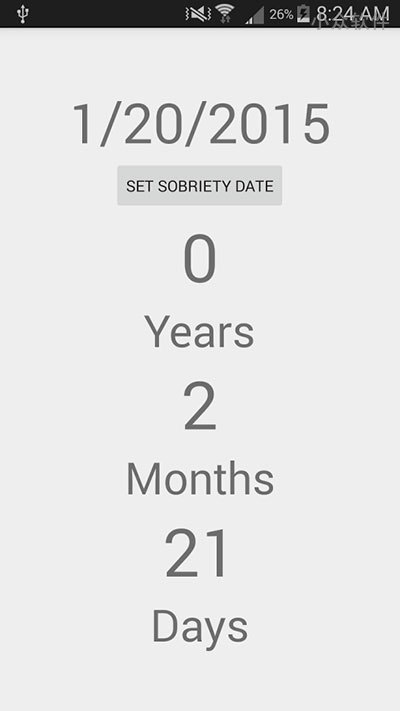 Sobriety Calculator - 真·极简,计算日子[Android] 2