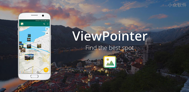 ViewPointer - 在地图上显示来自摄影网站的照片[Android] 1