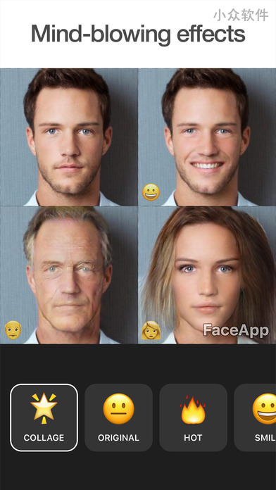 FaceApp - 变脸:变笑、变老、甚至「变性」[iPhone/Android] 3