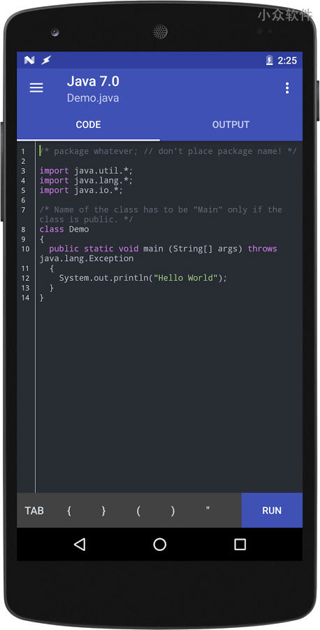 Online Compiler - 手机上的 IDE,代码编辑器与云编译 [Android] 1