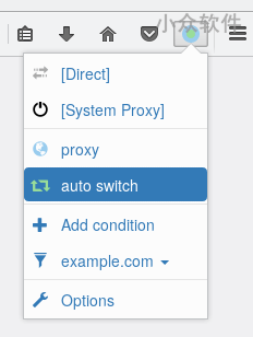 Proxy SwitchyOmega 发布 Firefox 版本 1