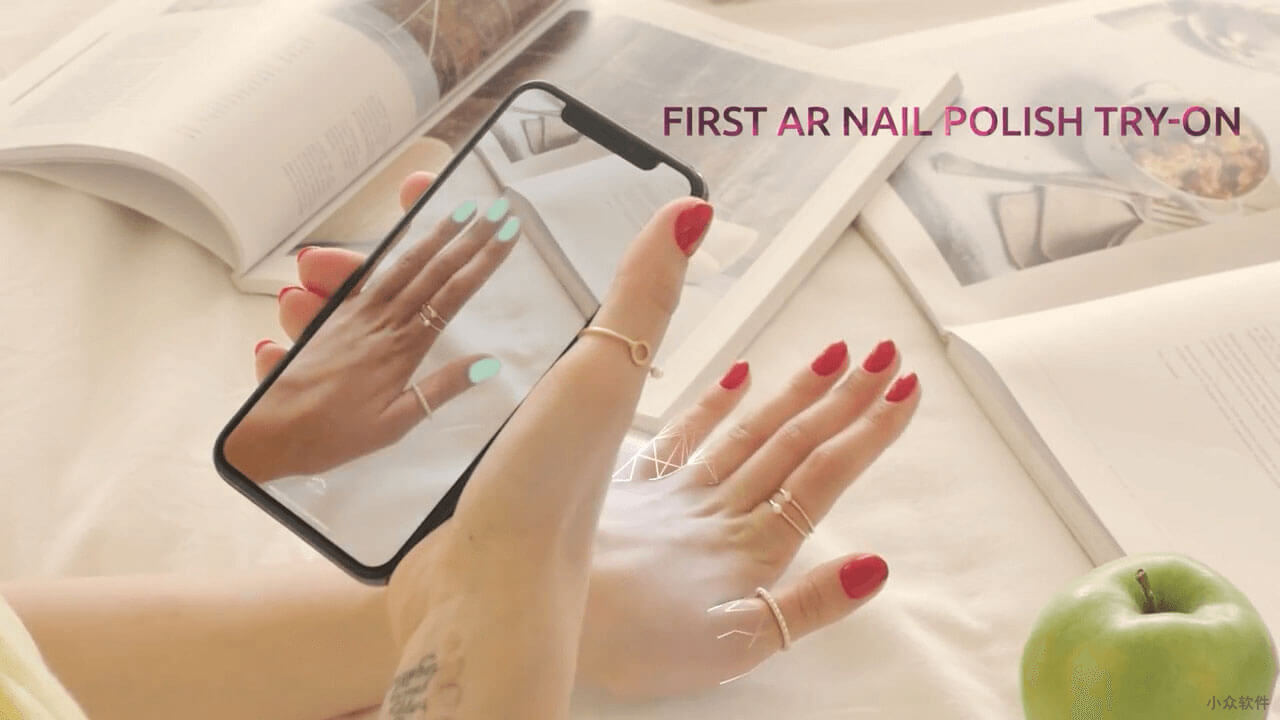 WANNA NAILS - 用 AR 来「美甲」选择指甲油的颜色 [iPhone/Android] 2