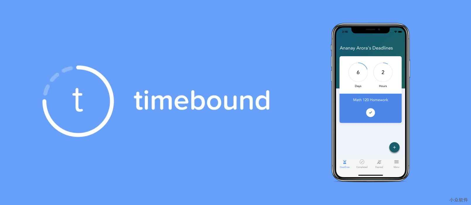 Timebound - 用倒计时显示并提醒 todo 任务[iOS/Android] 1
