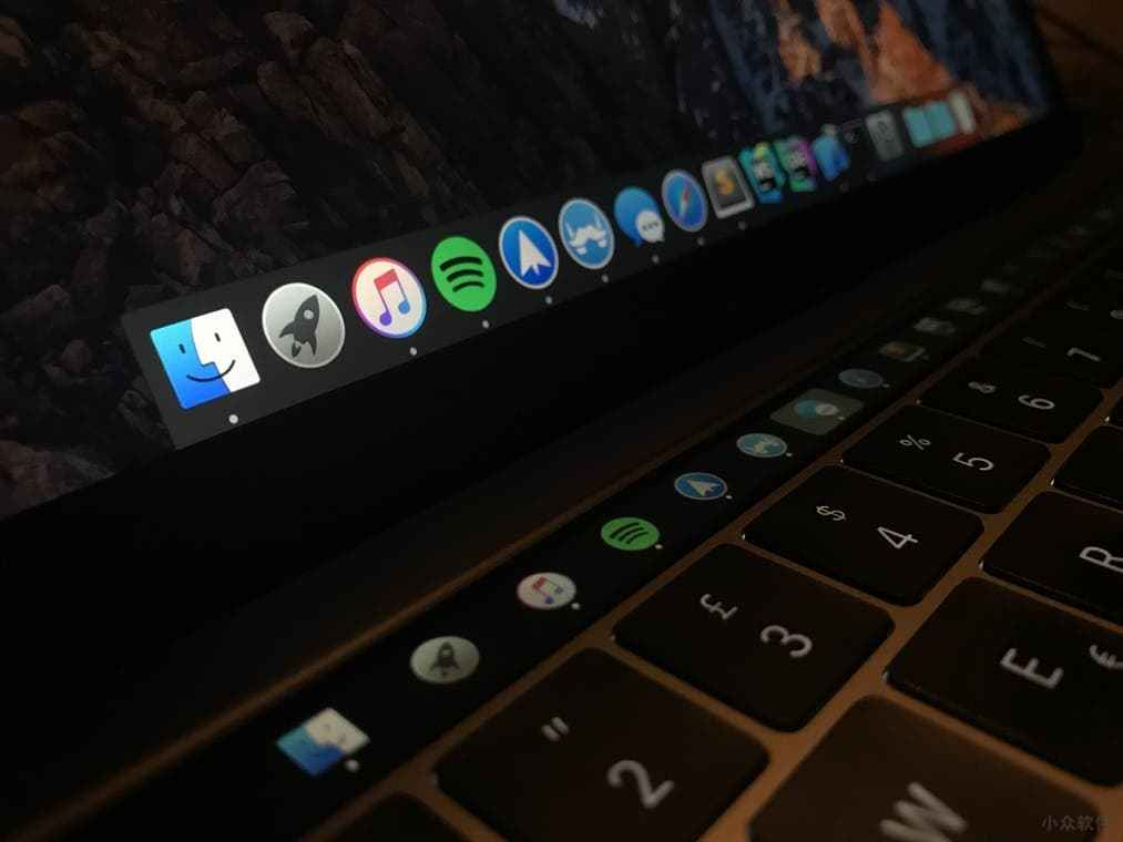 Pock - 在 macOS Touch Bar 顯示 Dock(程序塢)的應用圖標 1