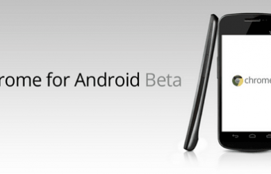 Chrome for Android Beta 初印象 17