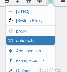 Proxy SwitchyOmega 发布 Firefox 版本 10
