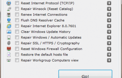 Complete Internet Repair - 快速修复 Windows 网络设置 21