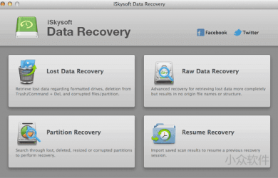 iSkysoft Data Recovery for Mac 母亲节限免 29