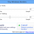 Tiny Windows Borders - 修改 Windows 8 窗口边框 6
