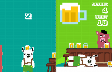 "LAMA with a BEER! - 像素级平衡类虐心""大作"" [iOS] 9"