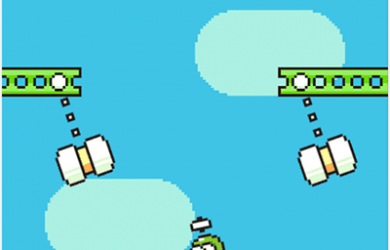 Swing Copters - 虐心游戏 Flappy Bird 续作[iOS/Android] 25