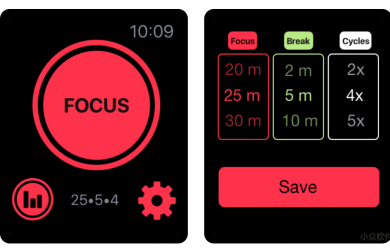 SILO Focus and Study Timer - Apple Watch 上的番茄时钟 4