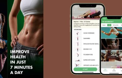 7 Minute Workout - 拥有 30+ 组动作的 7 分钟锻炼健身应用[iPhone/Android] 1