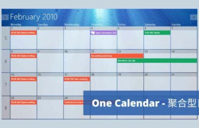 One Calendar - 支持 12 种日历账户,可显示任务的聚合型日历工具[Win/macOS/iPhone/Android] 2