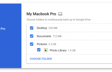 Backup and Sync from Google 将推迟发布 38