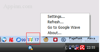 Google Wave Add-on for Firefox 10
