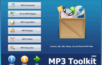 MP3 Toolkit - MP3 六合一工具箱 1