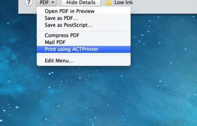 ACTPrinter - Mac 与 iPhone 间的相互虚拟打印机[OS X/iPad/iPhone] 70