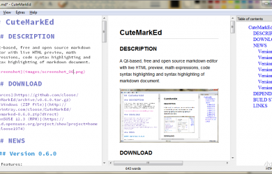 CuteMarkEd - 朴素 Markdown 本地编辑器[Win/Linux] 73