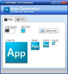 ClockMaker Icon Generator - 生成仿 Photoshop CS3 图标 13
