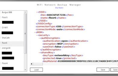 Wi-Fi Network Backup Manager - 备份无线网络设置和密码 47