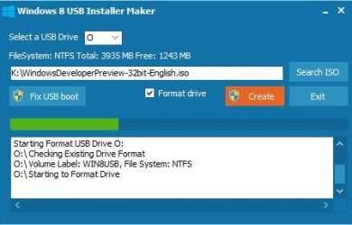 Windows 8 USB Installer Maker - 制作 WIN8 安装U盘 16